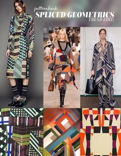 Trend Edit: Spliced Geometrics -S/S 2016 – BOLD DIAGONALS / STRUCTURED COLOUR BLOCKING / ARCHITECTURAL REFERENCES / CONTEMPORARY STRIPES & CHECKS