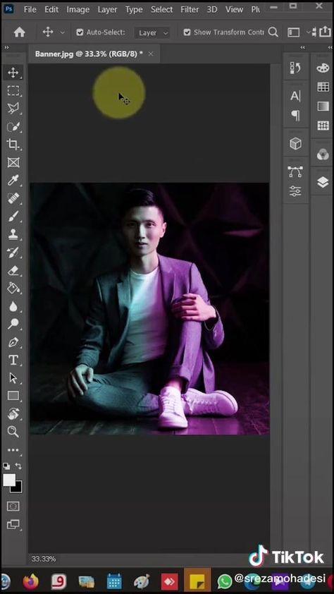 portrait gradient