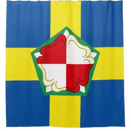 Pembrokeshire Flag Shower Curtain Zazzle Com Curtains Shower