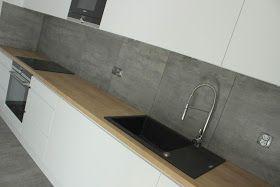 Materialy Wykorzystane Do Realizacji Blaty Laminowane Egger Dab Hamilton Naturalny H3303 St 10 Fronty Lakierowane Matowe W House Design Home Decor Design