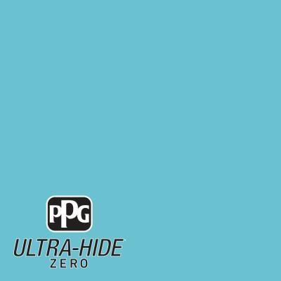 Ppg 1 Gal Hdpb28 Ultra Hide Zero Pacific Coast Blue Semi Gloss Interior Paint Interior Paint Blue Paint Colors Paint Colors