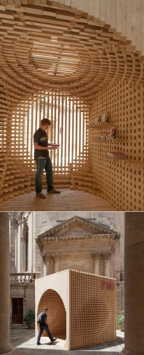 Pavilion for the Festival of Lively Architecture in Montpellier, France