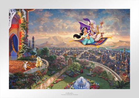 Aladdin - Limited Edition Paper - 24 x 36 / AP-Unframed