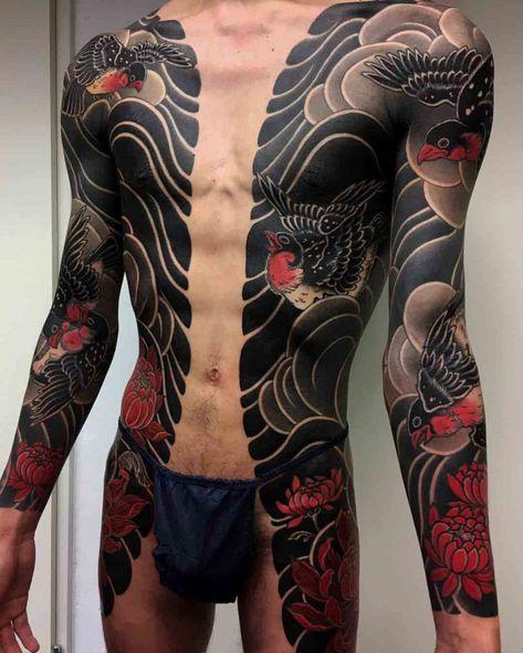 Yakuza Style Tattoos Varios Tatuajes Asiáticos Tatuaje Yakuza Y