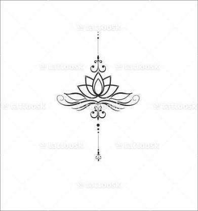 Tattoo Small Sternum Lotus Flowers 15 Best Ideas Tattoos Unalome Tattoo Sternum Tattoo