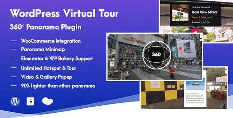 WordPress Virtual Tour 360 Panorama Plugin | Stylelib