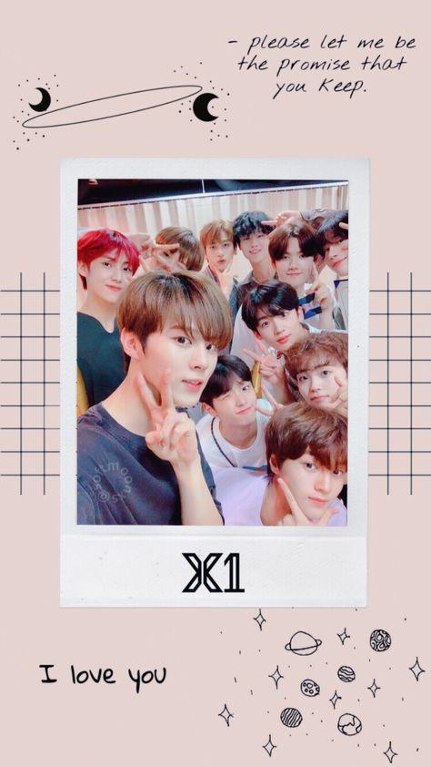 Wallpaper X1 Xone Producex101 Kpop Edit Di 2019 Latar