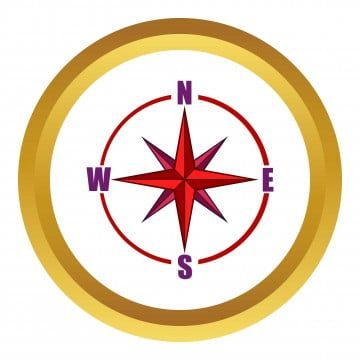 Red Compass Rose Vector Icon Cartoon Style Compass Clipart Style Icons Cartoon Icons Png And Vector With Transparent Background For Free Download Cartoon Icons Compass Icon Cartoon Styles