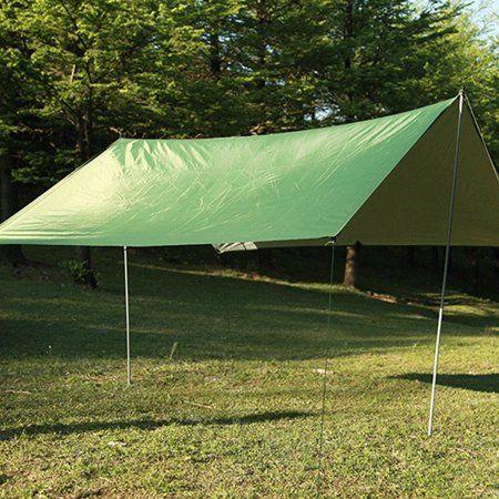 Outdoor Multifunctional Waterproof And Sunproof Beach Awning Tent Lightweight Damp Proof Mat Rain Shelter Walmart Com Rain Shelter Tent Outdoor