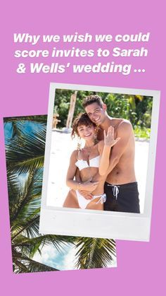 UHM well one reason is for sure because their dogs will definitely be part of the ceremony right?! #wedding #bridetobe #sarahhyland #adamwells #thebachelorette #bachelorinparadise #modernfamily #modernfamilywedding #sarahhylandwedding #weddingchicks