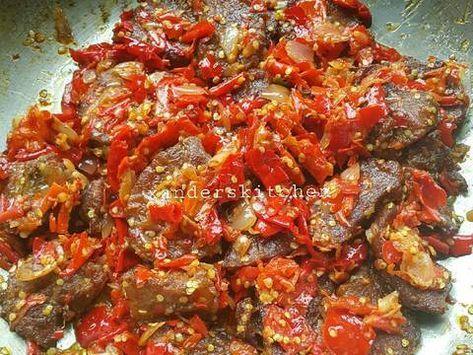 Resep Dendeng Balado Basah Oleh Xander S Kitchen Resep Resep Masakan Resep Masakan