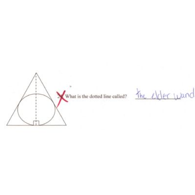 Awesome Exam Answer - Harry Potter Photo (27857118) - Fanpop fanclubs