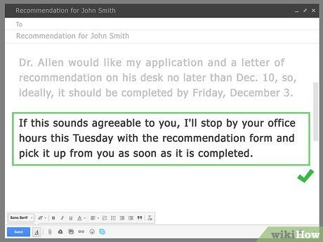 Can You Email A Professor For A Letter Of Recommendation from i.pinimg.com