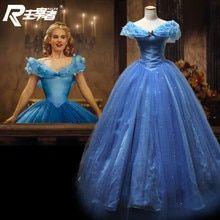 Tienda Online Azul Real Vestido De Bola De Princesa Quinceanera Vestidos Novia Piso Longitud Swee Vestidos De Cenicienta Traje De Cenicienta Cenicienta Disfraz
