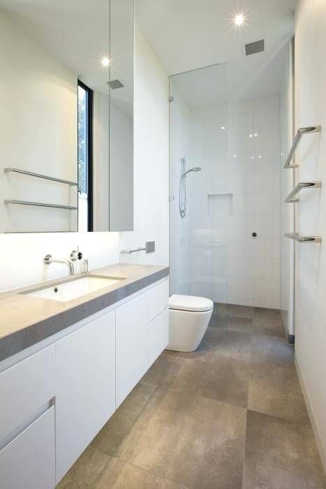 Image Result For Long Skinny Bathroom Layout Blueprint Modern