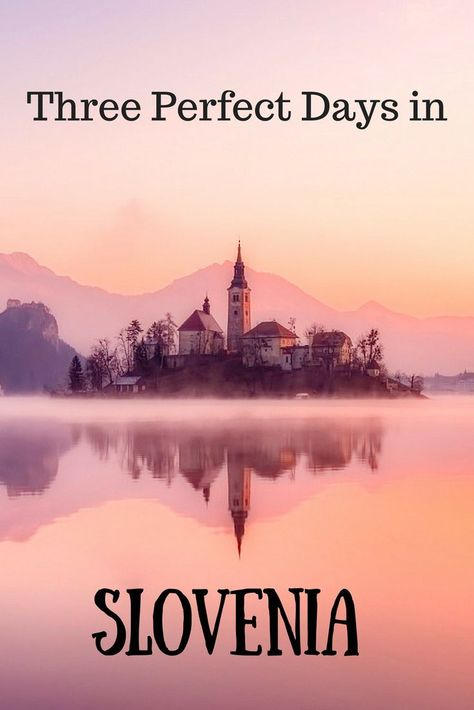 If you are looking for the best way to spend 3 days in Slovenia, then click this Slovenia Guide! From Ljubljana to Piran to the fairytale Lake Bled, here's the best of Slovenia. #Slovenia #LakeBled #Llubljana #Piran #Europe