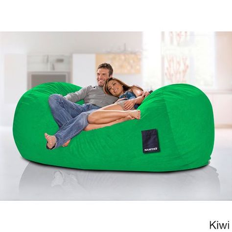 Peachy Sumo Titanium Oversized Beanbag Chair Overstock Com Cjindustries Chair Design For Home Cjindustriesco