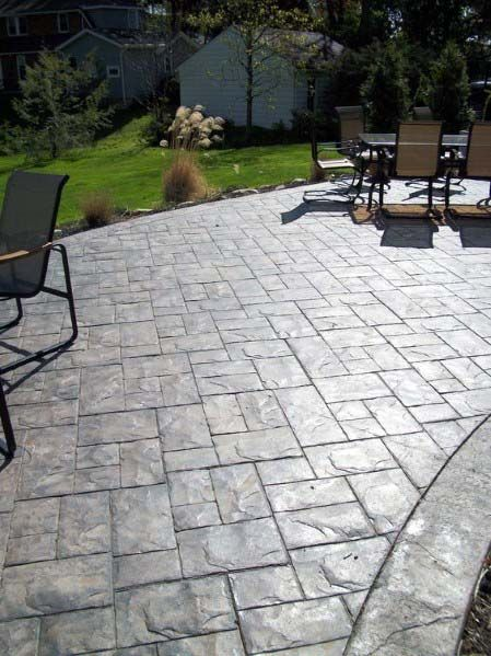 Top 50 Best Stamped Concrete Patio Ideas Outdoor Space Designs Stamped Concrete Patio Designs Concrete Patio Designs Colorful Patio