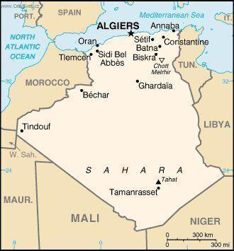 Foto Alzirsko Politicka Mapa Algeria Travel Travel Warnings