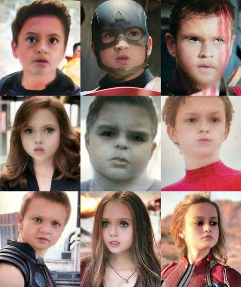 "Avengers 🎥 on Instagram: ""Baby Face 👶 🍼 Who is your favorite??? 😂🙌🏻 Credits to the owner 🔥 - - - - - - - - - #avengersendgame #avengers #marvel #dontspoiltheendgame…"""