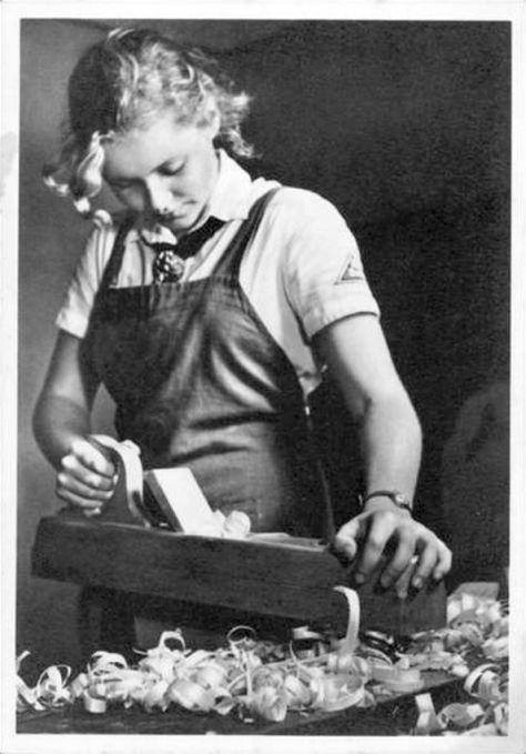woodworking girl