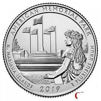 America the Beautiful National Park Quarters set of 5 2019 S Mint BU