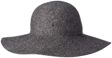a561934ce41 Calvin Klein Women s Wool Felt Floppy Hat with Logo Plate Review ...