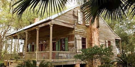 Modern rustic cabin ideas on pinterest modern cabins for Cajun cottages