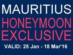 Honeymoon Specials, Mauritius 2016 Exclusive Honeymoon Offers