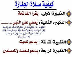 صلاه الجنازة Urdu Words Words Prayers