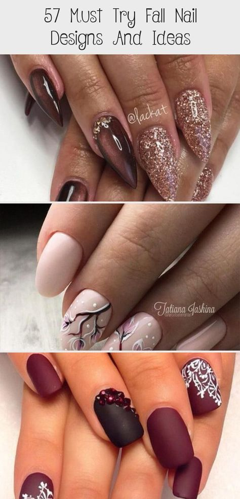 Must Try Fall Nail Designs And Ideas ★ #nailwinterIdeas #nailwinterMarble #nai...#designs #fall #ideas #nai #nail #nailwinterideas #nailwintermarble