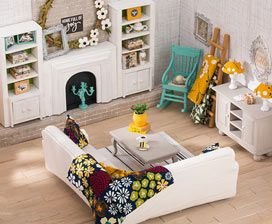 Dollhouse Furniture Tiny Treasures Dollhouse Furniture Diy