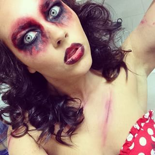 minnie mouse makeup for halloween - Google Search | costumes ...