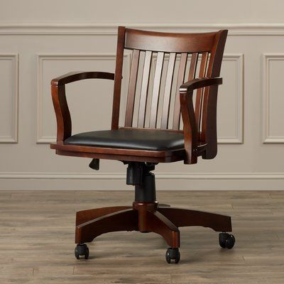 Genevieve Mid Back Deluxe Bankers Chair In 2020 Bankers Chair Affordable Chair Wooden Office Chair