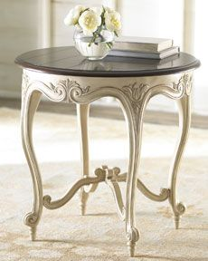 "Horchow H5EYM ""Marie"" Side Table"