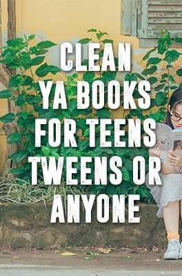Clean YA books for teens, tweens, or anyone - Clean Teen Books The Effective Pictures We Offer You About Book Genres for kids A quality picture can tell you many things. You can find the most beautifu Best Books For Teens, Books For Boys, Ya Books, Library Books, Good Books, Books To Read, Book Suggestions, Book Recommendations, Teen Girl Books