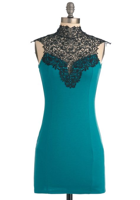 I have this dress in black and ADORE it --> Like You a Lattice Dress, #ModCloth