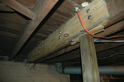 Taylor's Blog » This Old House Part 19 of 63453 – Rotted Floor Joist and Backdoor