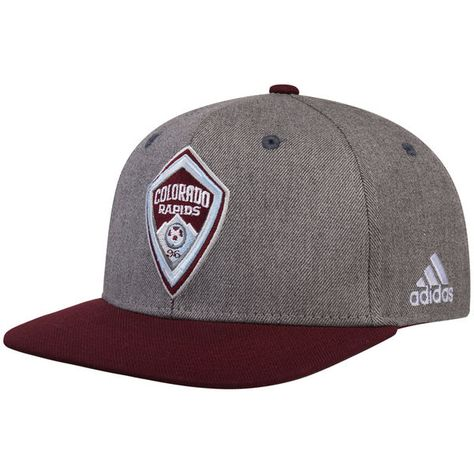 super popular 7a8ca a548d Men s Colorado Rapids adidas Gray Burgundy Two-Tone Structured Adjustable  Hat, Your Price   25.99