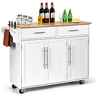 Amazon.de: Küchenwagen auf Rollen, Servierwagen mit 10 Schubladen