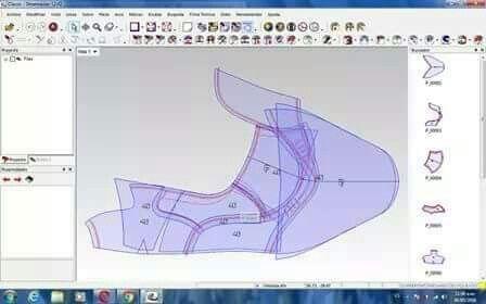Marikina 2d Grading Sprung Pattern Zapatos