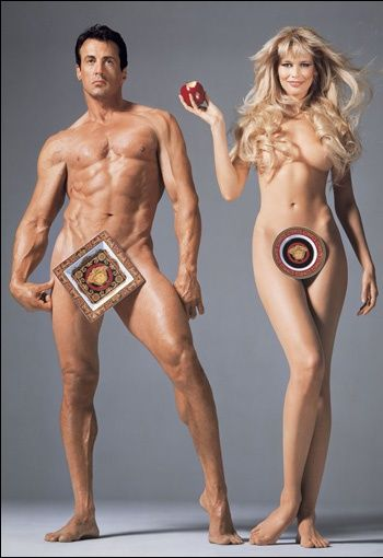 The Naked and The Dressed 20 years of Versace by Avedon