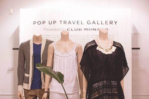 Pop-up Travel Gallery by Club Monaco