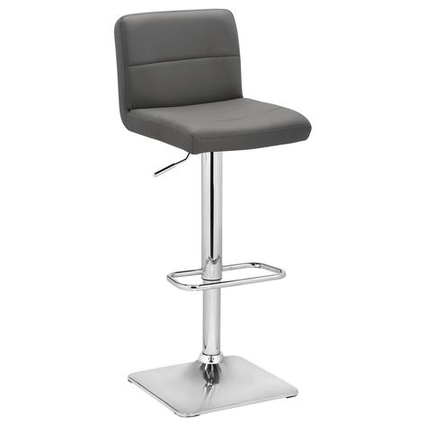 Astounding Riko Light Grey Adjustable Stool 87Cm To 109Cm Structub Caraccident5 Cool Chair Designs And Ideas Caraccident5Info