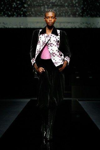 Desfile de moda mujer otoñoinvierno 2020 2021 de Giorgio Armani