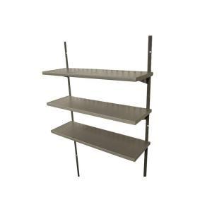 9 in W x 9 in D Steel Garage Wall Shelf H x 36 in