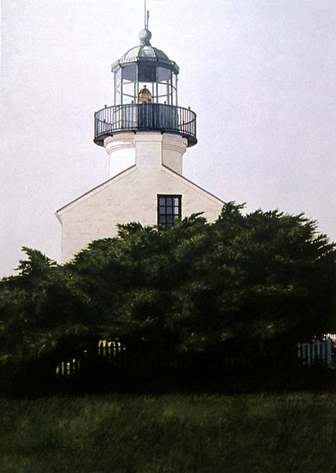 Charlotte-Genesee Lighthouse Lake Ontario Rochester New York Matted Art Prints