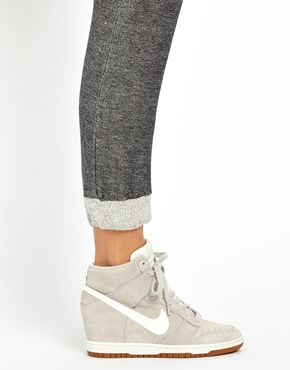 I thought the wedge sneaker trend would go out faster, but these are pretty cute.