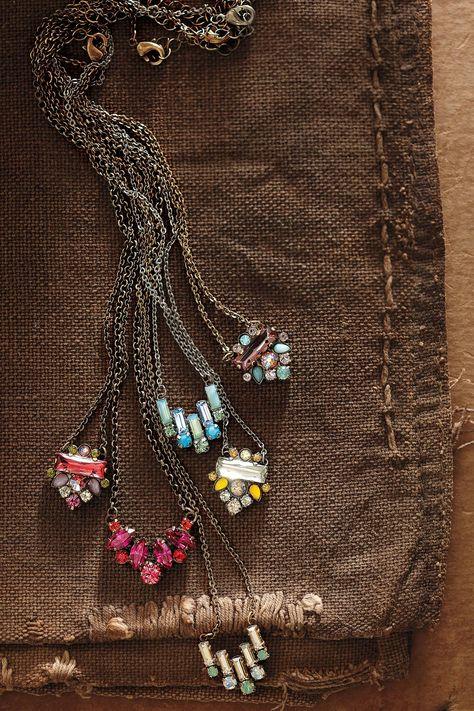 Glitzed Arrow Necklace