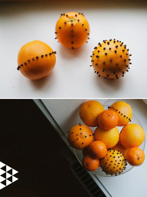 The House That Lars Built.: My Scandinavian Christmas Day 3: Orange and Clove Pomanders